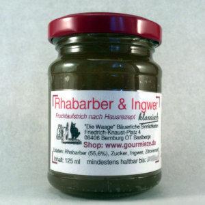 Rhabarber & Ingwer - klassisch