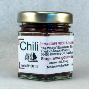 Chili, fermentiert nach Lousiana-Art