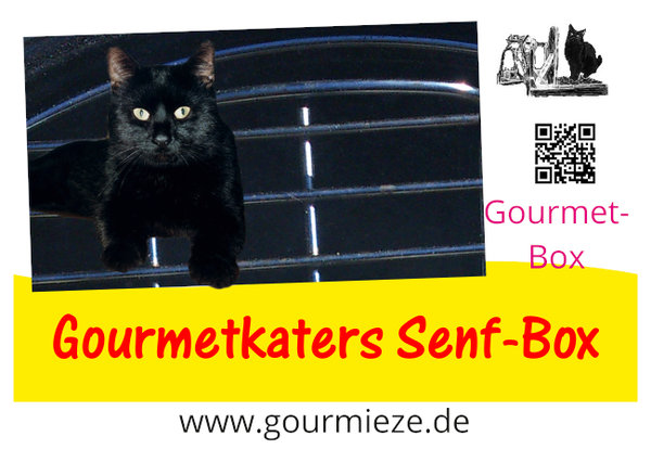 Gourmetkaters Senf-Box